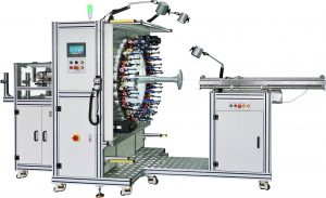 Stent braiding machine