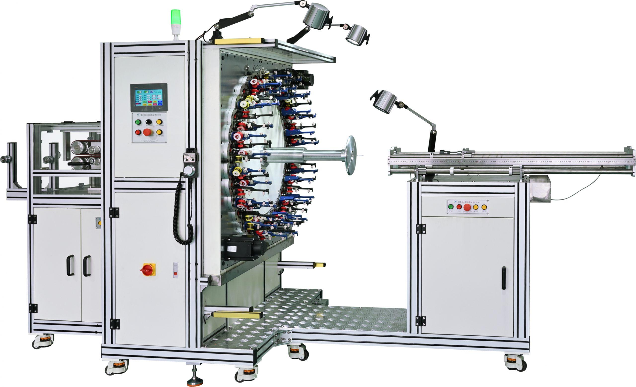 Stent braiding machine